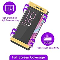 D-kandy 3D Premium Quality Full Edge To Edge 9H Hardness 2.5D CURVE Tempered Glass Full Screen Protector For SONY...