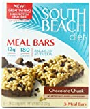 South Beach Diet Meal Bar, Chocolate Chunk, 5 Count