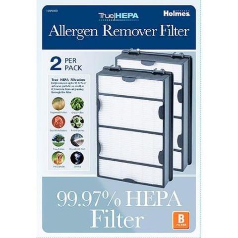 Holmes True HEPA Filter HAPF600D-U2, Filter B, Economy Pack of 4 Pack Holmes-l2 (Holmes True Hepa B Filter compare prices)