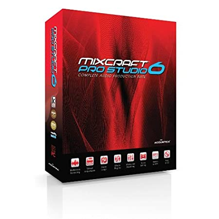 Acoustica Mixcraft Pro Studio V.6 - Windows
