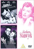 Double Indemnity/ All I Desire [Import anglais]