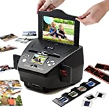 "3-in-1 Digital Photo / Negative Films / Slides Scanner with built-in 2.4"" LCD Screen"