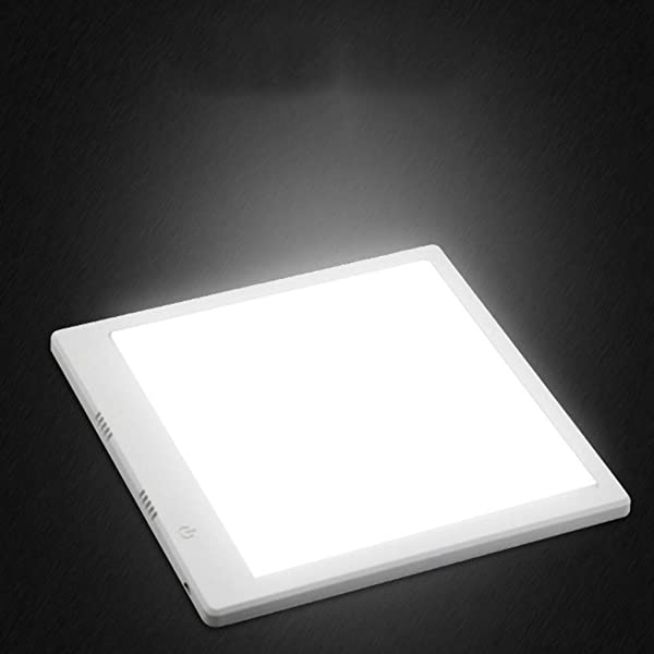 SLFC 15.78in x 15.74in LED Shadowless Light Dimmable LED Light Panel Photography Softbox Bottom Light with USB for Food Jewelry Cosmetic Crafts Shooting (Tamaño: 15.78in x 15.74in)