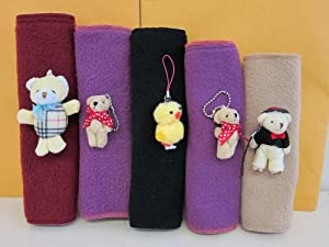 Adorable Vehicle Seat Belt Pad 5-pack
