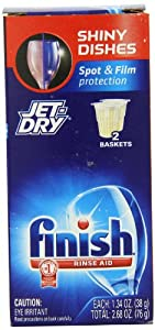 Finish Jet Dry Rinse Aid, Dishwasher Rinse Agent, 2.68 Ounce (Pack of 3)