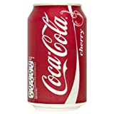 Cherry Coca-Cola 330ml (Pack of 24 x 330ml)