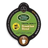 Green Mountain Breakfast Blend Coffee Travel Mug Keurig Vue Portion Pack, 72 Count