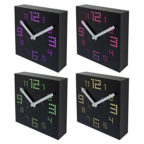 led a pile horloge led a pile jusqu 35 pureshopping. Black Bedroom Furniture Sets. Home Design Ideas