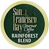 San Francisco Bay Coffee, Rainforest Blend, 120 OneCup Single Serve Cups
