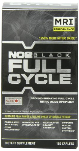 MRI NO2 Black Full Cycle Nutritional-Supplement, 150 Count