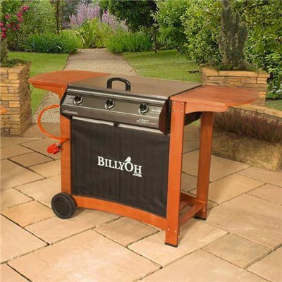 BillyOh Gas BBQ - Flatbed 3 Burner Gas Barbecue (BBQ)