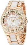 Womens Watch Rose Gold Tone and White Bracelet Designer Jade LeBaum - JB202744G