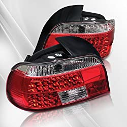 BMW528i 540i M5 (E39) 97 98 99 00 LED Tail Lights ~ pair set (Clear/Red)