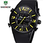 Trendy Free Box Weide 3402 Outdoor Sports Dive Swimming Watch Men Boys Full Black Sports Quartz Watches Relogio Rolojes Free Shipping by Soulya