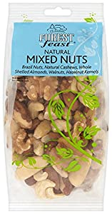 Forest Feast Wholesnacks - Natural Mixed Nuts 250 g (Pack of 4)
