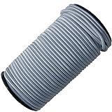 QVS Shop 10mm X 50M White Shock Cord/Elastic Bungee Rope Tarpaulin Tie