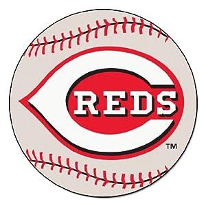 Buy Cincinnati Reds 29 Round Baseball Floor Mat (Rug) by Fanmats