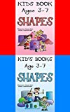Kid's Books Ages 3-7 Bundle: Shapes for Children (Shapes for Girls, Shapes for Kids, Shape Book, Children's Shape Books, Kids Shape Books, Learning Shapes, Learn Shapes)