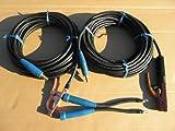 ウエルダー用キャプタイヤケーブル安全ホルダー側10mとアースグリップ側10mのトータル20mジョイント付溶接機用