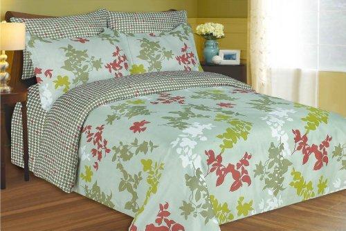 Luxury Home 8-Piece Comforter Set, Queen, Candy Purple