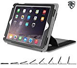 ZUGU CASE iPad Air 1 / 2 Case Genius Pro 2016 Version - Best iPad 5 & 6 Stand Cover, 5th, 6th generation, Wake / Sleep - Formerly ZooGue