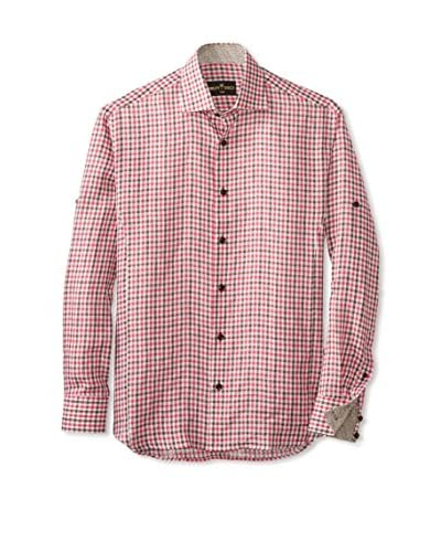 Bertigo Men's Long Sleeve Check Woven Shirt