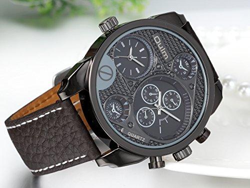 Regalo de papá Día del padre Jewelrywe Grande Reloj de caballero deportivo 9efd55f2ff3f