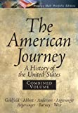 American Journey Portfolio, Combined (0131921002) by Goldfield, David