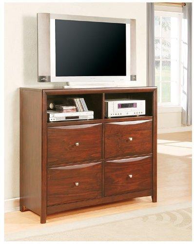 Cheap Espresso Finish 2-in-1 Media Dresser / TV Stand (VF_AM7411)