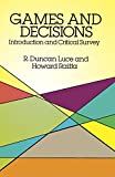 img - for Games and Decisions: Introduction and Critical Survey (Dover Books on Mathematics) book / textbook / text book