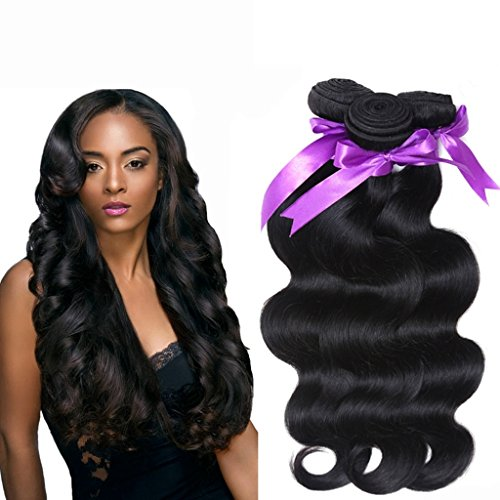 Danolsmann-Hair-100-Virgin-Indian-Human-Hair-Extensions-BODY-WAVE-3-Pack-Bundle-300g-Total-100g-each-Grade-AAAAAA-Natural-Black-Color