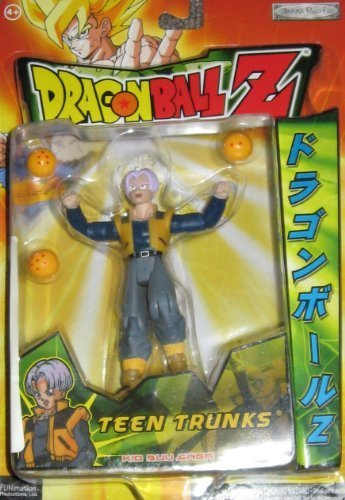 """Action Products Dragon Ball Z Teen Trunks 5"""" Action Figure"""