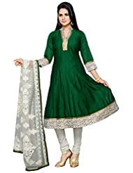 Roopali Creations Women's Chanderi Silk Salwar Suit Set - B013SVNEN2