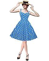 Maggie Tang Women's 1950s Vintage Rockabilly Dress