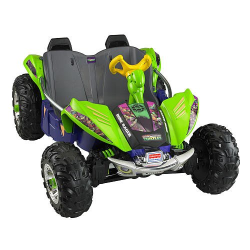 FisherPrice Power Wheels Teenage Mutant Ninja Turtles Dune Racer