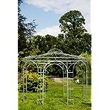 Stabiler Gartenpavillon aus Metall, verzinkt 250cm , Pavillon