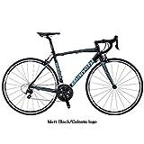 Bianchi(ビアンキ) ロードバイク VIA NIRONE 7 PRO 105 (ニローネ 105) 2016モデル (マットブラック) 50サイズ
