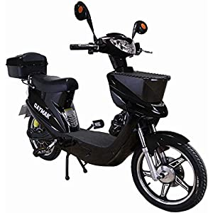 Daymak Vienna Rocket 500W 72V Electric Scooter Bike Ebike Moped Black by Daymak