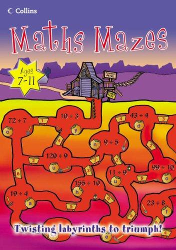 Maths Mazes (Mighty Maths) PDF