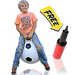 WALIKI TOYS Jumping Hopper Hopping Hippity Hop Ball Soccer Ages 3-6