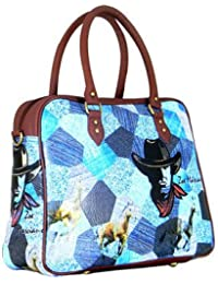 Digitally Printed Multi Stylish Cabin Carry Bags With Multi Pocket - B01ICTCXLO