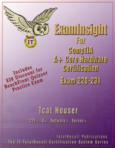 Examinsight for Comptia A+ Core Hardware Exam 220-231