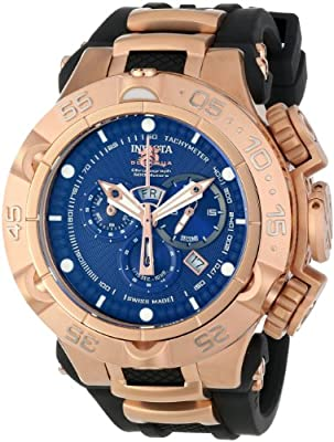 Invicta Men's INVICTA-12883 Subaqua Analog Display Swiss Quartz Black Watch