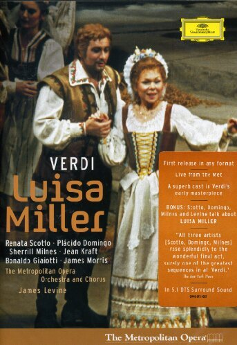 Luisa Miller (Scotto, Domingo, Levine) - Verdi - DVD