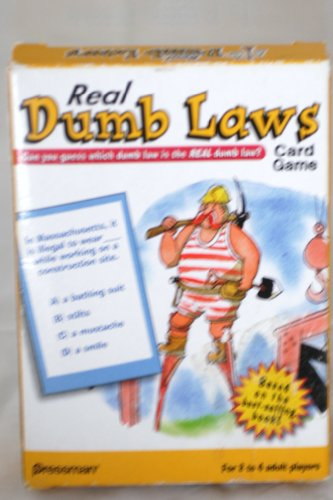 PLAYING CARD GAME - REAL DUMB LAWS - Pressman - 1