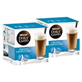 Nescafé Dolce Gusto Freddo Cappuccino, Pack of 2, 2 x 16 Capsules (16 Servings)
