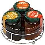 The Bay Tree Food Company Carousel Real Ale Chutney/ Onion Marmalade and Sweet Chilli Jam 230 g