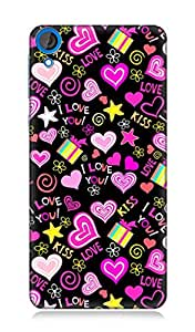 7C High Quality Back Case Cover For Htc Desire 820