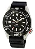 ORIENT (オリエント) SEL03004B0 M-Force/M-フォース 自動巻き スポーツ ブラック×シルバー ラバーベルト メンズウォッチ 腕時計 [並行輸入品]
