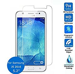 Honey Money (SAMSUNG GALAXY J5 2016 NEW EDITION) Tempered Glass Screen Protector ) - (CRYSTAL CLEAR)